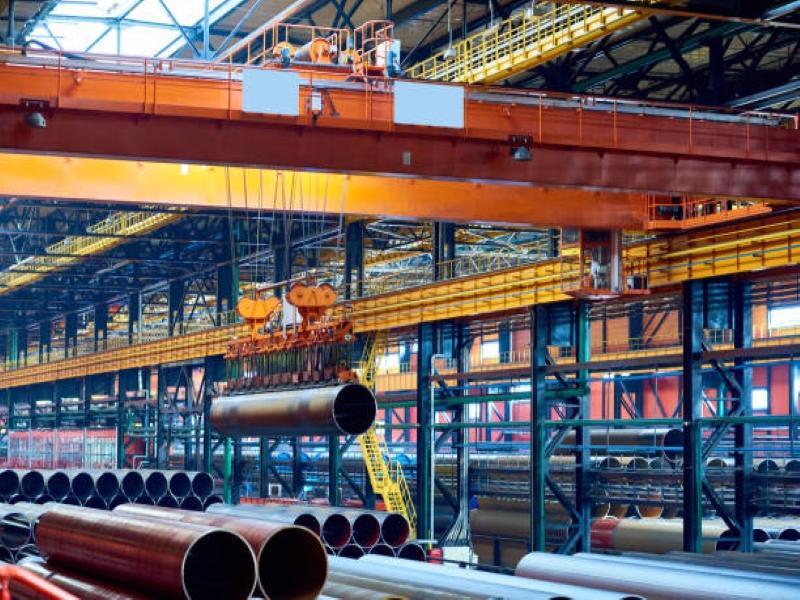 งานติดตั้งเครนโรงงาน